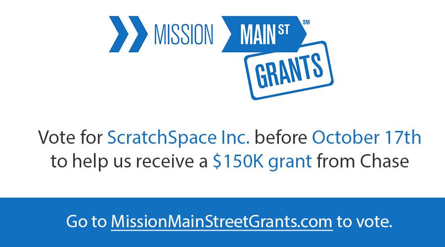 Mission Main Street Grants Vote ScratchSpace Inc.